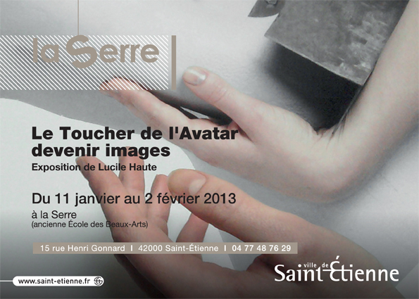 Flyer le Toucher de l'Avatar recto